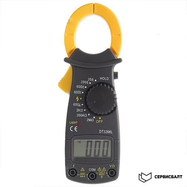 Токовые клещи (мультиметр) DT-3266L в прокат